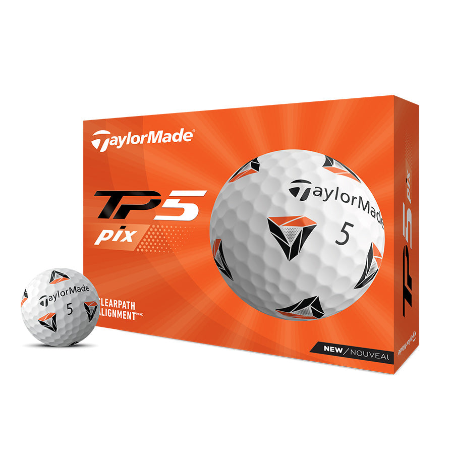 TaylorMade 2021 TP5 pix Golf Balls: Pre Order Today, Available 4/9/2021
