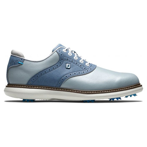 Foot Joy Traditions Golf Shoes - Grey/Blue 57902