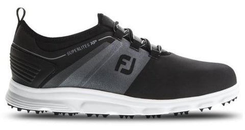 FootJoy 2019 Superlites XP Spikeless Golf Shoes - Black 58066