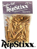 "RipStixx 2 1/8"" Golf Tees - White or Oak"