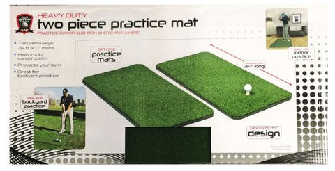 Heavy Duty 2 Piece Practice Mats