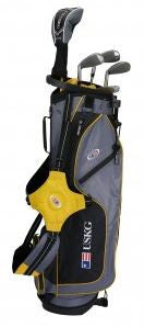 U.S. Kids UL63 5-Club Stand Bag Set