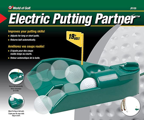 Electric Putting Partner - Automatic Putting Ball Return