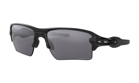 Oakley Flak 2.0 XL Polished Black Polarized Sunglasses