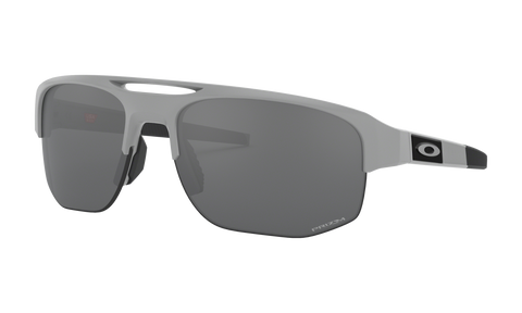Oakley Mercenary Matte Fog Prizm Black Iridium Sunglasses
