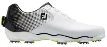 Foot Joy D.N.A. Helix BOA Golf Shoes - White/Silver 53319