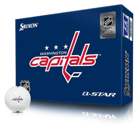 SRIXON NHL WASHINGTON CAPITALS Logo Q-Star Golf Balls