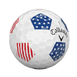 Callaway 2018 Chrome Soft X TRUVIS STARS & STRIPES Limited Edition Golf Balls