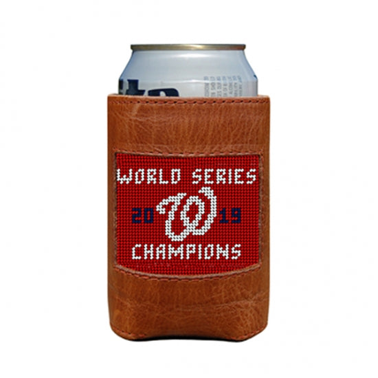 Smathers & Branson Washington Nationals 2019 World Series Needlepoint Can Cooler