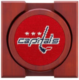 Smathers & Branson Washington Capitals® Needlepoint Coaster Set