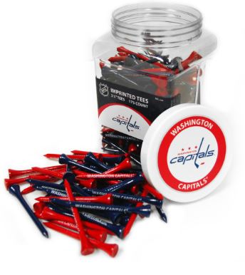 Team Golf Washington Capitals 175 Tee Jar