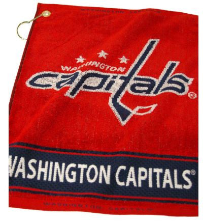 Team Golf Washington Capitals Woven Golf Towel