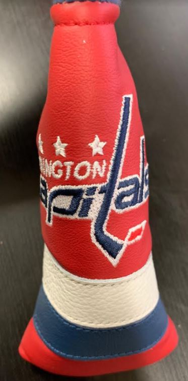 Dormie Washington Capitals Premium Leather Blade Putter Headcover