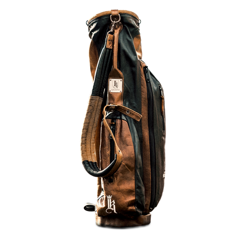 Links Kings Leather Stand Bag Assorted Colors