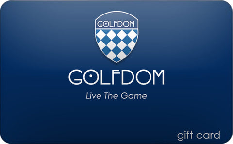 Golfdom Gift Card - PHYSICAL GIFT CARD (For In-Store Purchases Only)