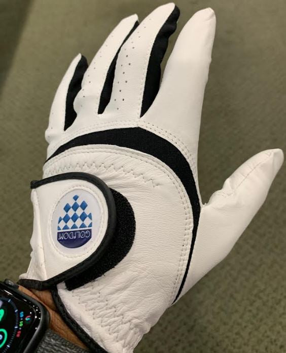 Golfdom Special Leather Mens Golf Glove