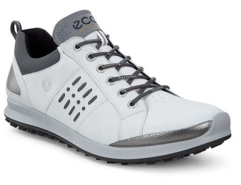 ECCO Mens BIOM Hybrid 2 GTX Spikeless Golf Shoes