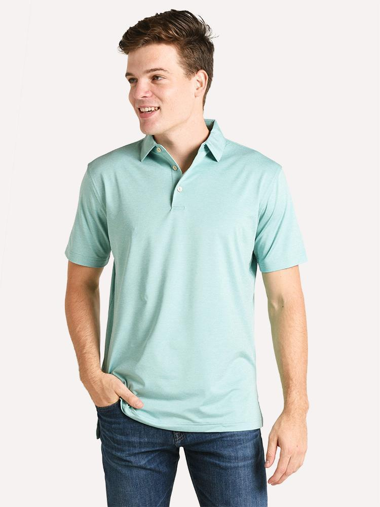 PETER MILLAR SOLID JERSEY POLO MF19EK01S