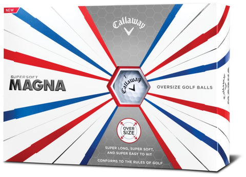 Callaway 2019 Supersoft MAGNA 19 Golf Balls