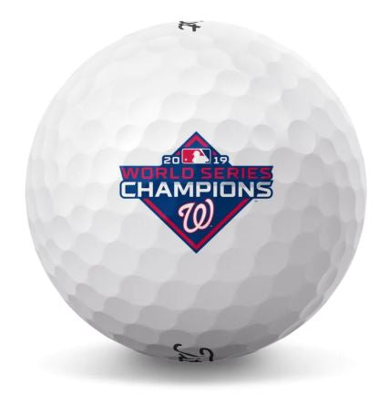 Titleist Pro V1 Limited Edition Washington Nationals World Series Champions Golf Balls