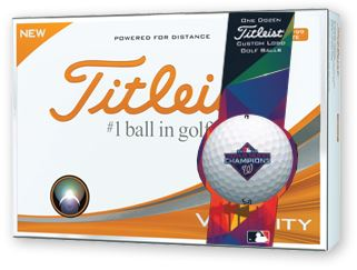 Titleist Velocity Limited Edition Washington Nationals World Series Champions Golf Balls