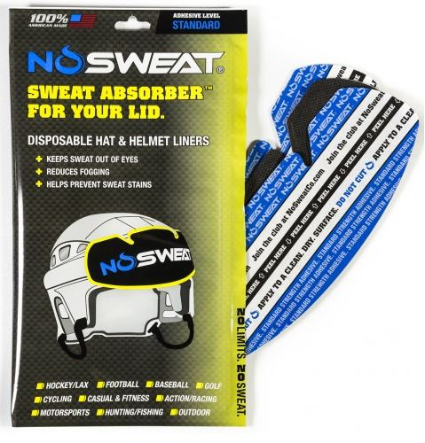 NOSWEAT Hat Liners - 3pack
