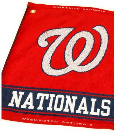 Team Golf Washington Nationals Woven Golf Towel