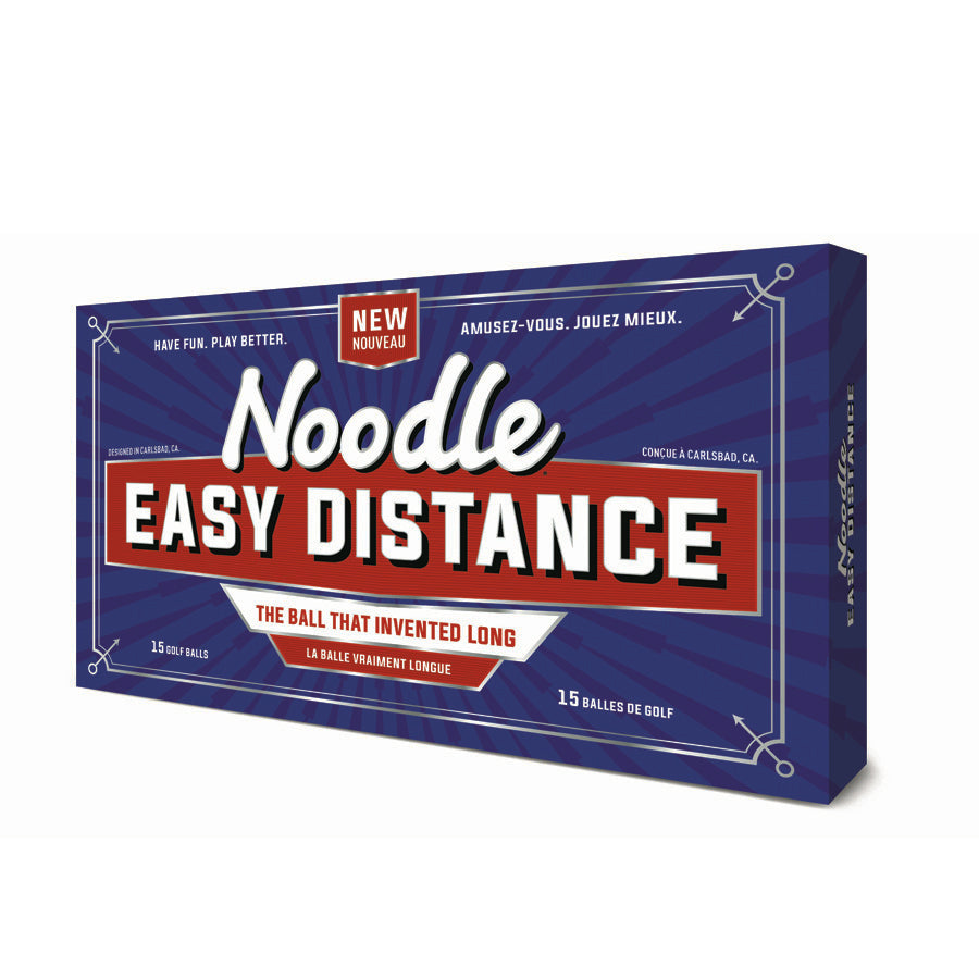 TaylorMade Noodle Easy Distance 15-Pack Golf Balls