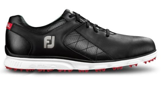 best sneakers fashion save off Foot Joy Pro/SL Spikeless Golf Shoes - Black/White 53594