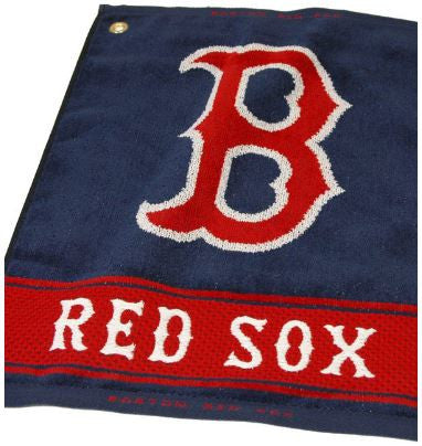 Team Golf Boston Red Sox Woven Golf Towel