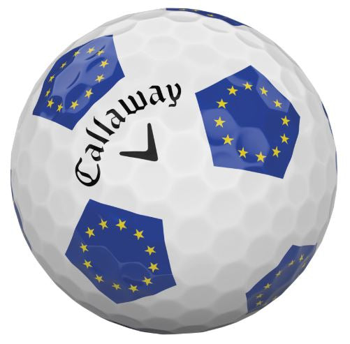 Callaway 2018 Chrome Soft TRUVIS EUROPEAN Limited Edition Golf Balls
