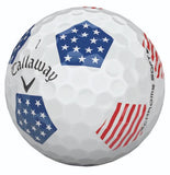 Callaway 2018 Chrome Soft TRUVIS STARS & STRIPES Limited Edition Golf Balls