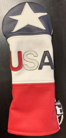 Dormie USA Premium Leather Driver Headcover