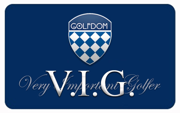Very Important Golfer (V.I.G.) Rewards Program