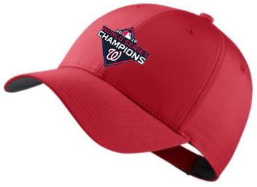 Nike Washington Nationals World Series Champions Hat - AVAILABLE IN-STORE ONLY