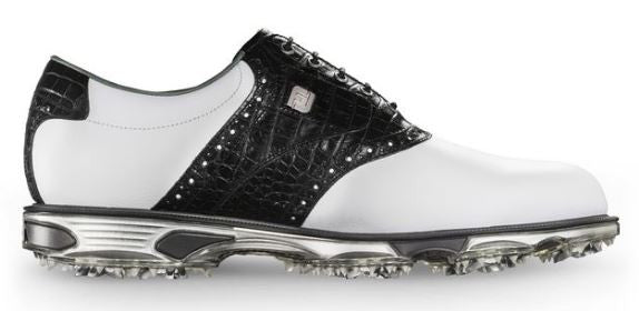 Foot Joy DryJoys Tour Golf Shoes - White/Black 53610