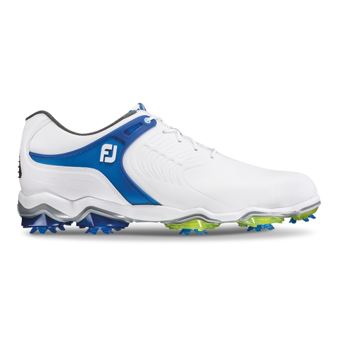 Foot Joy Tour-S Golf Shoes - White/Blue 55301