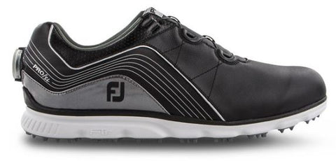 FootJoy 2019 Pro/SL BOA Spikeless Golf Shoes - Black 53275