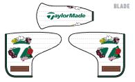 TaylorMade 2021 Season Opener Limited Edition Blade Putter Headcover