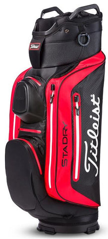 caa290098595 Titleist 2018 StaDry Deluxe Cart Bag