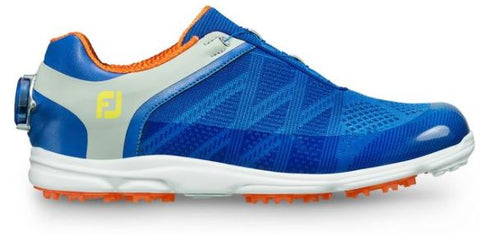 Foot Joy Women's Sport SL Golf Shoes - Blue/Lt. Grey/Orange 98031