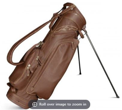 Sun Mountain 2017 Leather Stand Bag