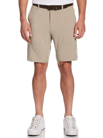 CALLAWAYGOLF APPAREL 9 FF WOVEN HEATHER ERGO SHORT CGBFA030