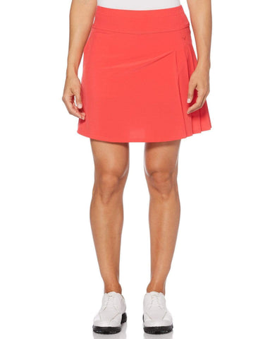 Callaway Side Pleat Skort CGBF9047 Teaberry