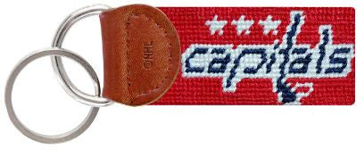 Smathers & Branson Washington Capitals® Needlepoint Key Fob