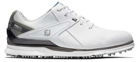 Foot Joy 2020 Pro/SL Carbon Spikeless Golf Shoes - White 53104