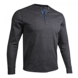 2UNDR Long Sleeve Pocket Henley Pullover