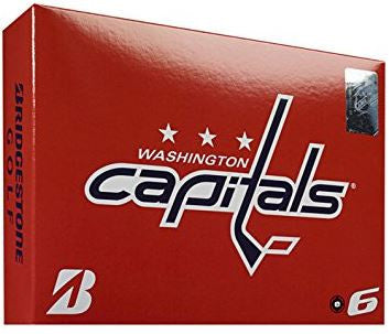 Bridgestone e6 Washington Capitals NHL Golf Balls