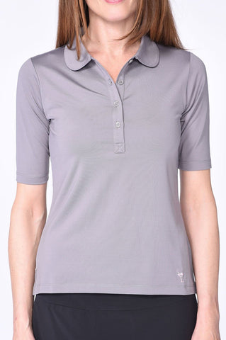 Golftini Elbow Fashion Top FT18GY Gray