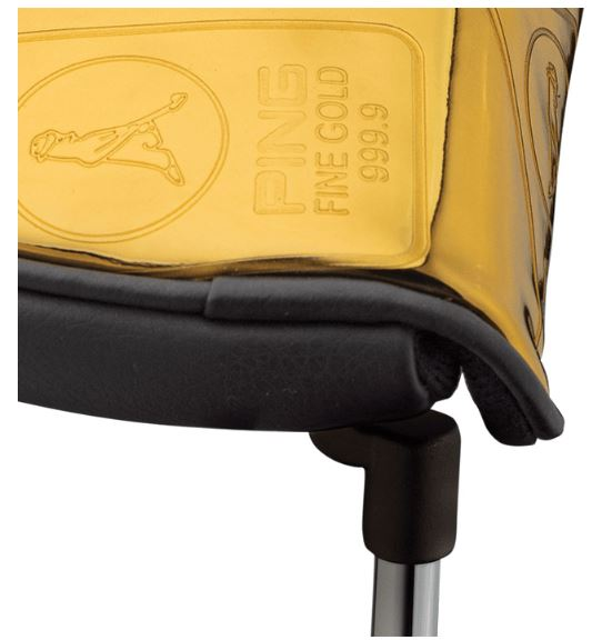 PING Gold Vault Mallet Putter Cover